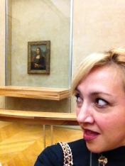 """La Monalisa me recordó la canción """"Masterpiece"""" de Madonna."""