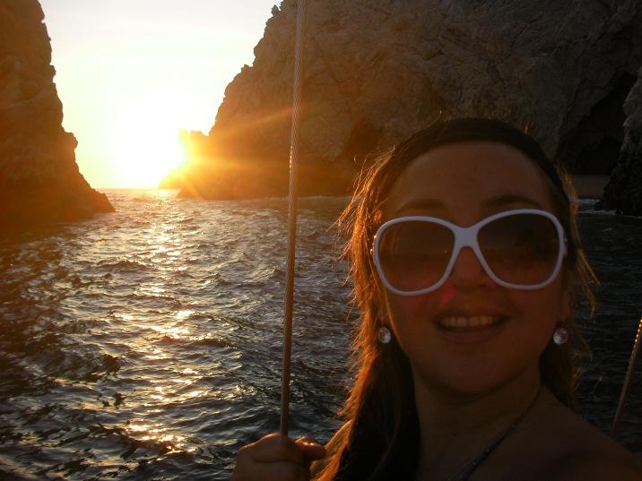 A bordo del yate en el que celebramos el cumple de Dany, en el 2009.