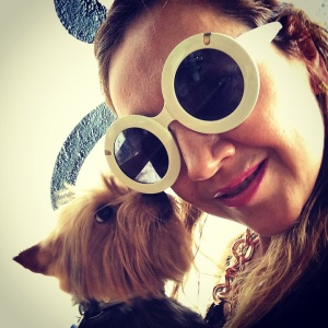 "Gio me acompañó a este ""play date"" donde convivió con varios perritos."