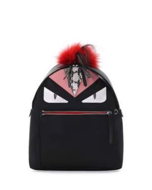 fendi-monster-fur-mohawk-backpack