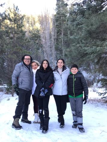 Todos nos divertimos sin importarnos el frío.